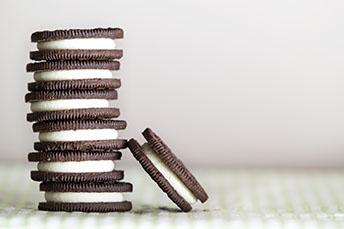 Oreo type cookies